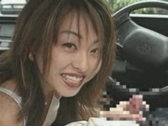 麻宮淳子 淫語連発WWWエロマンガに出てくるような痴女!タクシーの運っちゃんに手コキする!